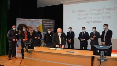 Photo of Signature du contrat d'objectifs agriculture